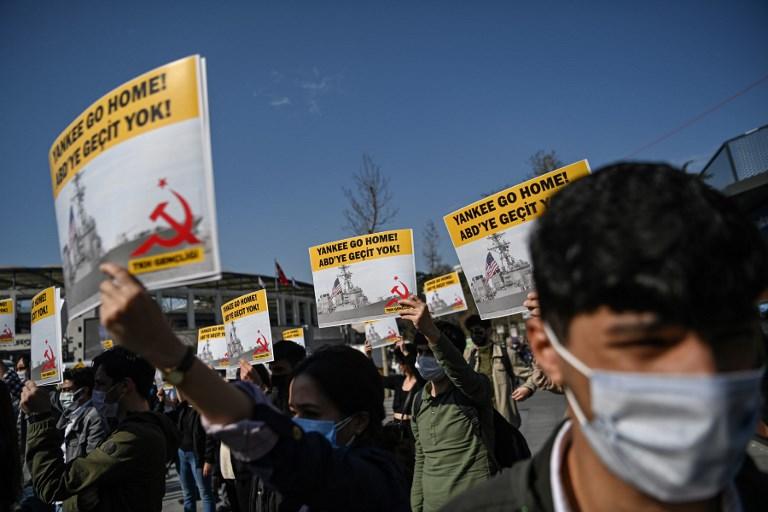 TURKEY - US - UKRAINE - RUSSIA - POLITICS - DIPLOMACY - DEMO